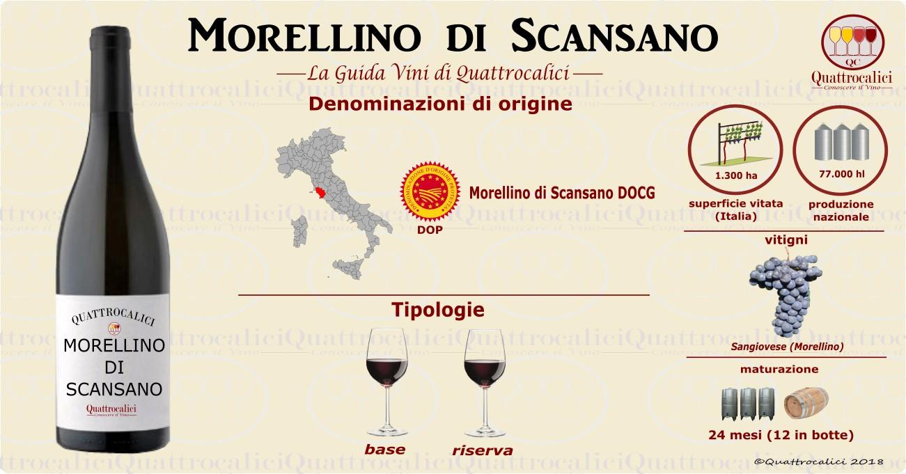 morellino di scansano vini